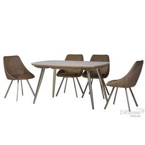 Раскладной обеденный стол Vetro Mebel TML-640 Прованс