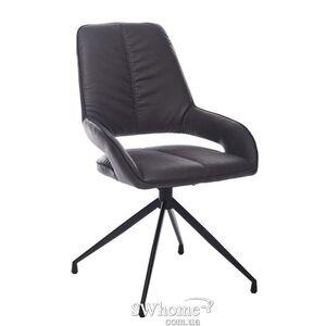 Поворотный стул Vetro Mebel R-70 Графит