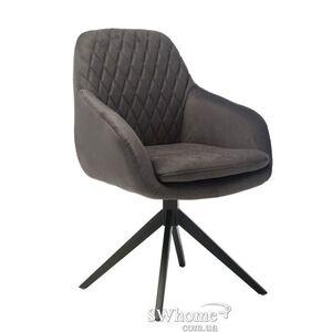 Поворотное кресло Vetro Mebel R-85 Графит