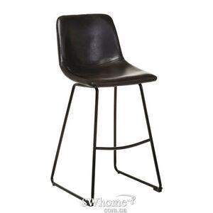 Барный стул Vetro Mebel B-13 Черный антик