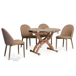 Стол обеденный Vetro Mebel TMT-33 Кремовый